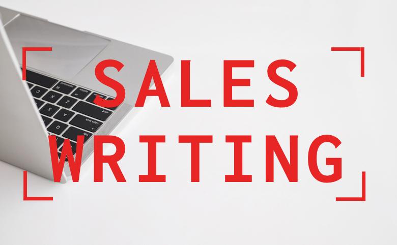 Sales writing